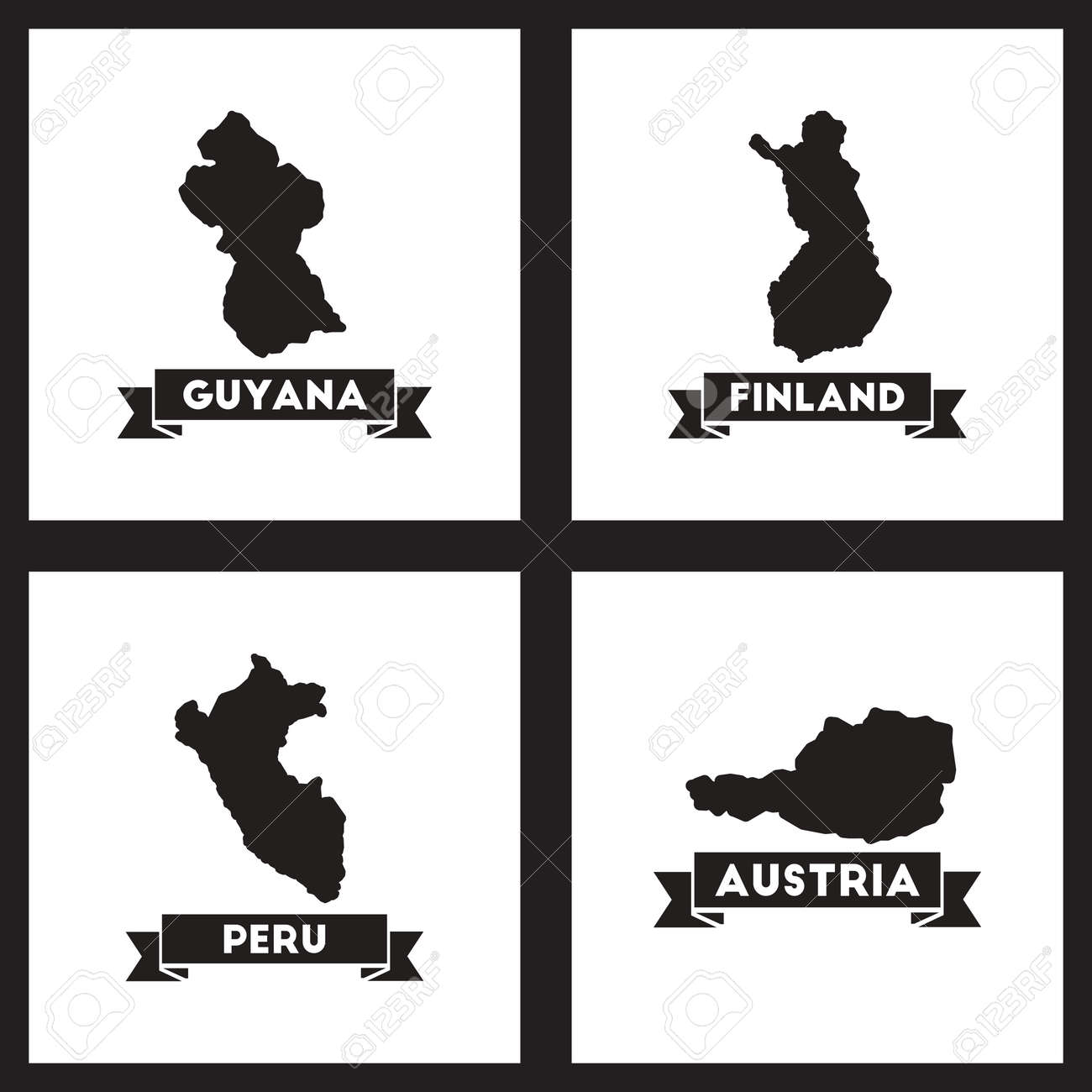 Concept flat icons black and white maps of countries world royalty concept flat icons black and white maps of countries world stock vector 58123718 gumiabroncs Choice Image