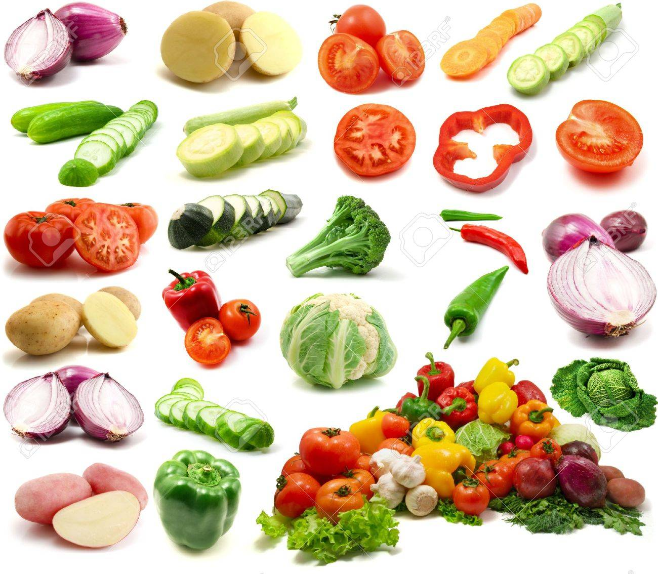 large page of vegetables Stock Photo - 3270979