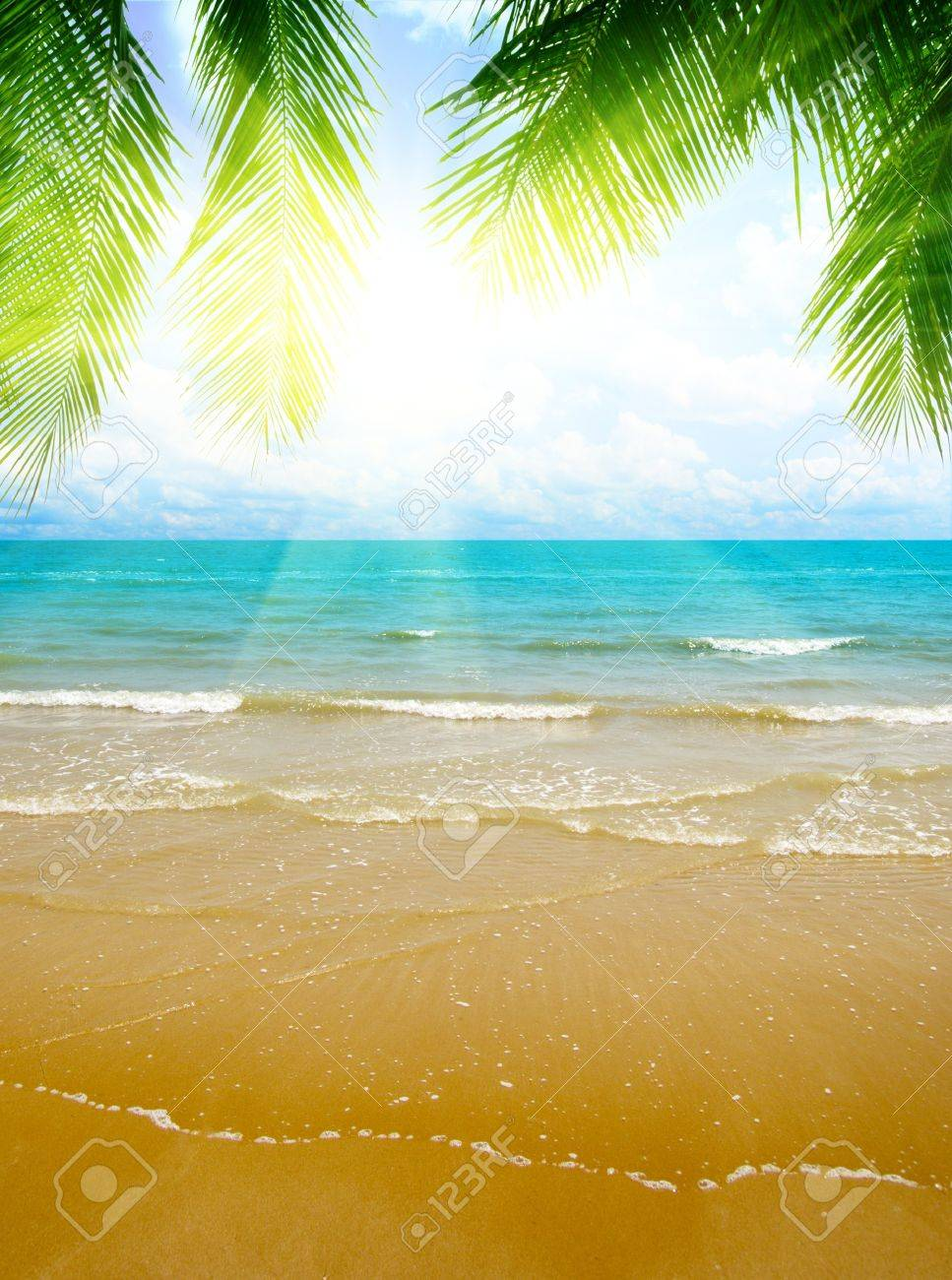 sand and ocean Stock Photo - 4548643