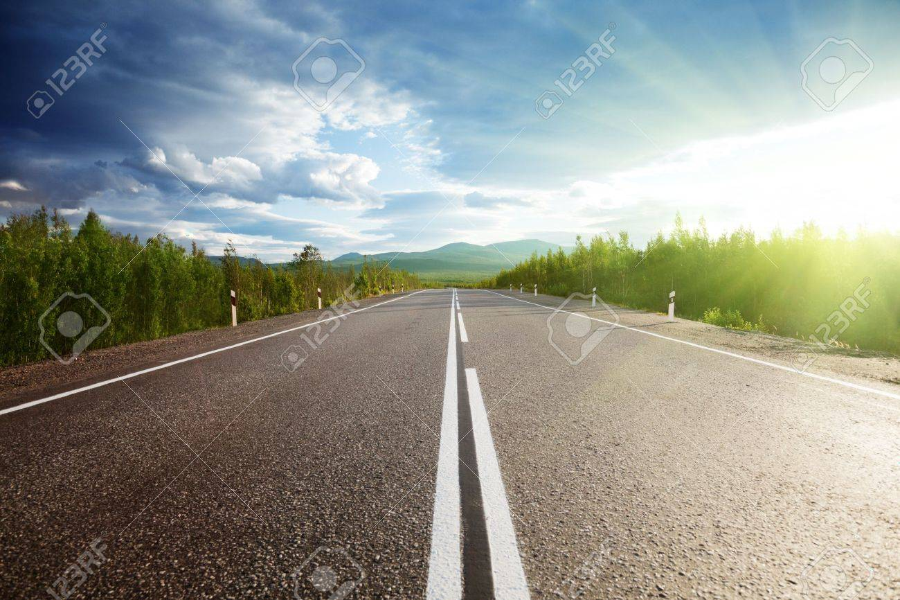 road in Russian mountains Stock Photo - 7784842