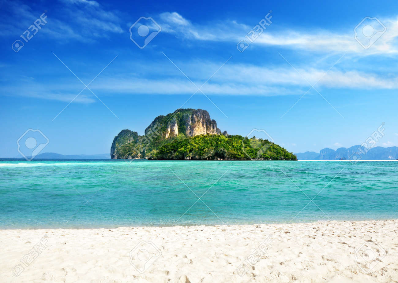 Poda island in Thailand Stock Photo - 9641789