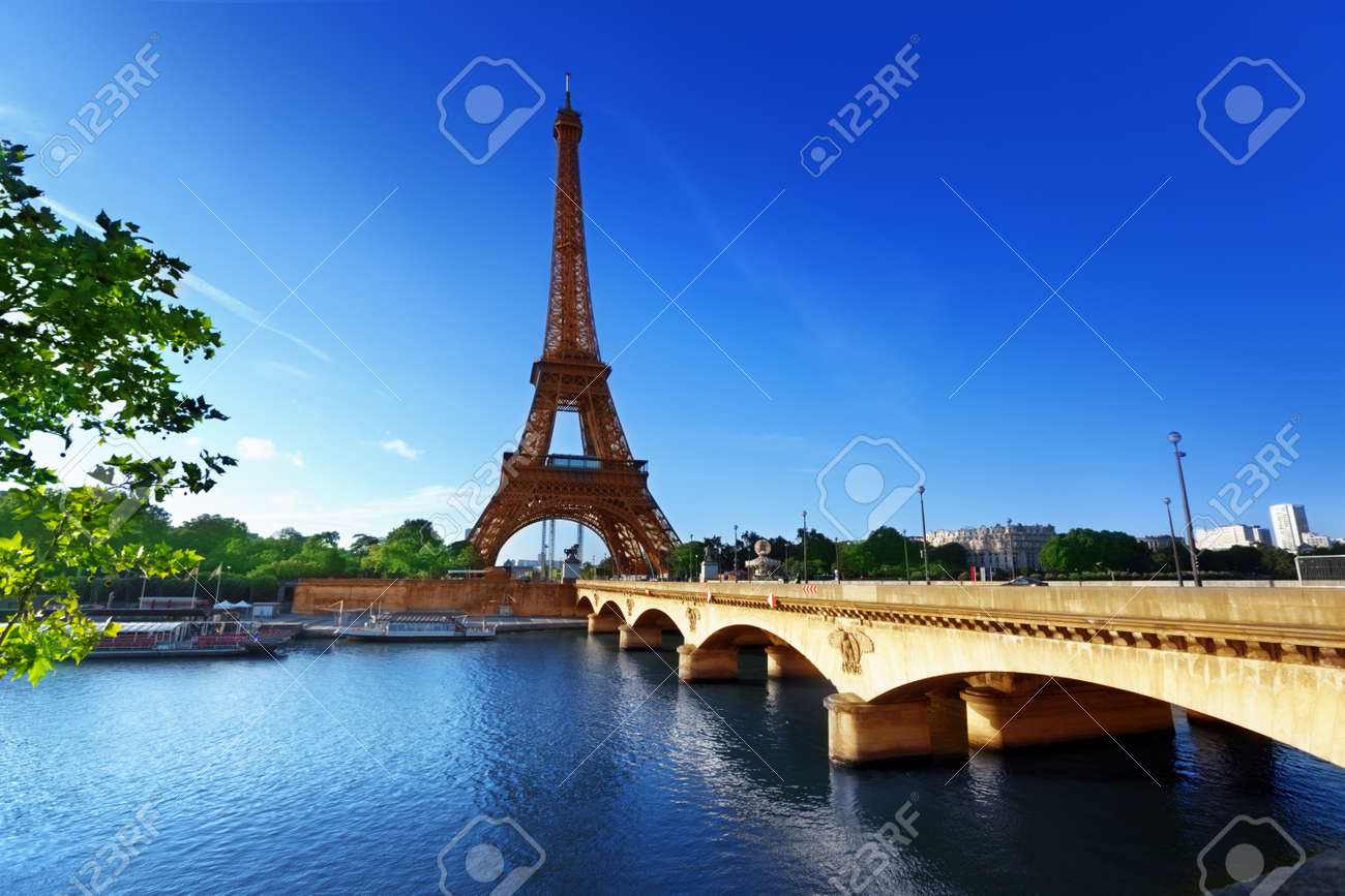 Eiffel tower, Paris  France Stock Photo - 18998863