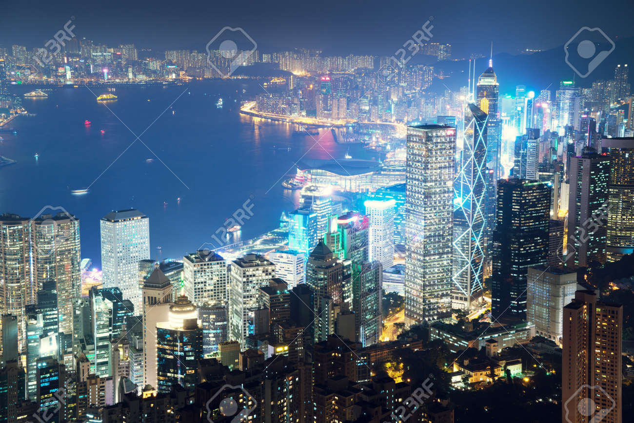 Hong kong from the Victoria peak - 50081553