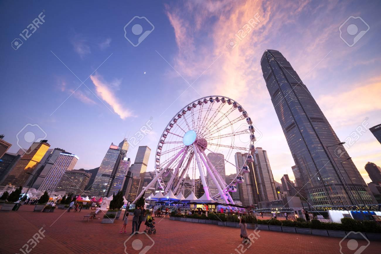 Observation Wheel, Hong Kong - 53546866