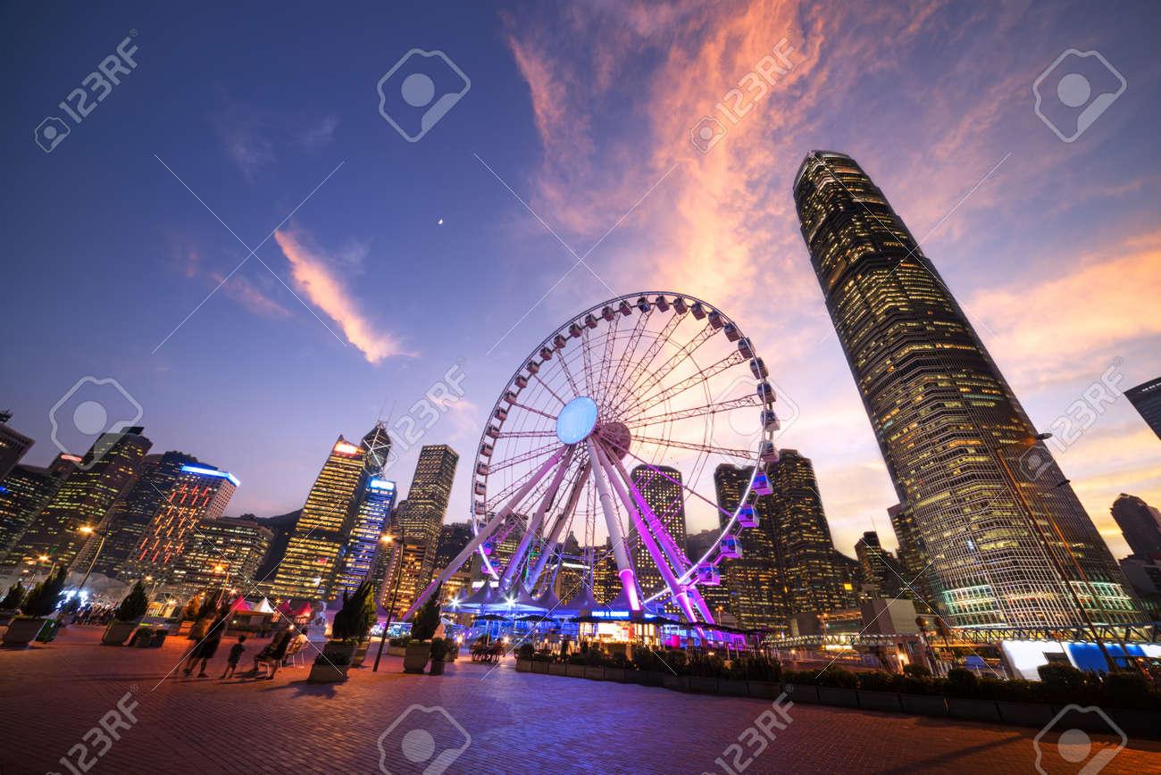 Observation Wheel, Hong Kong - 55481115