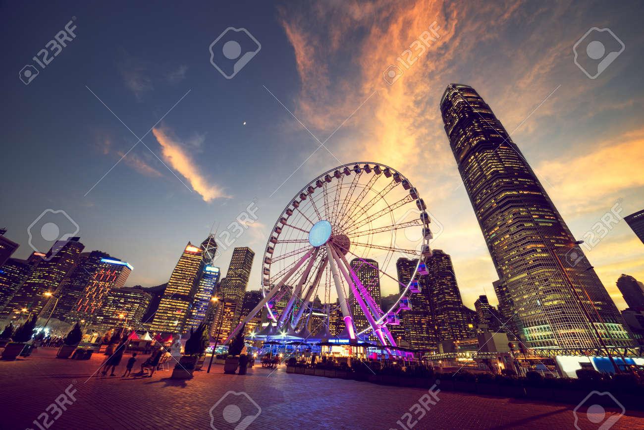 Observation Wheel, Hong Kong - 55481378