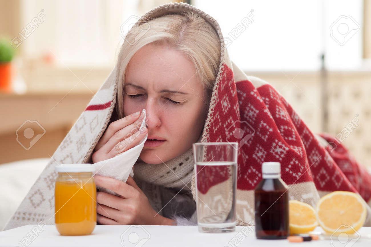 Vlady Gets Sick