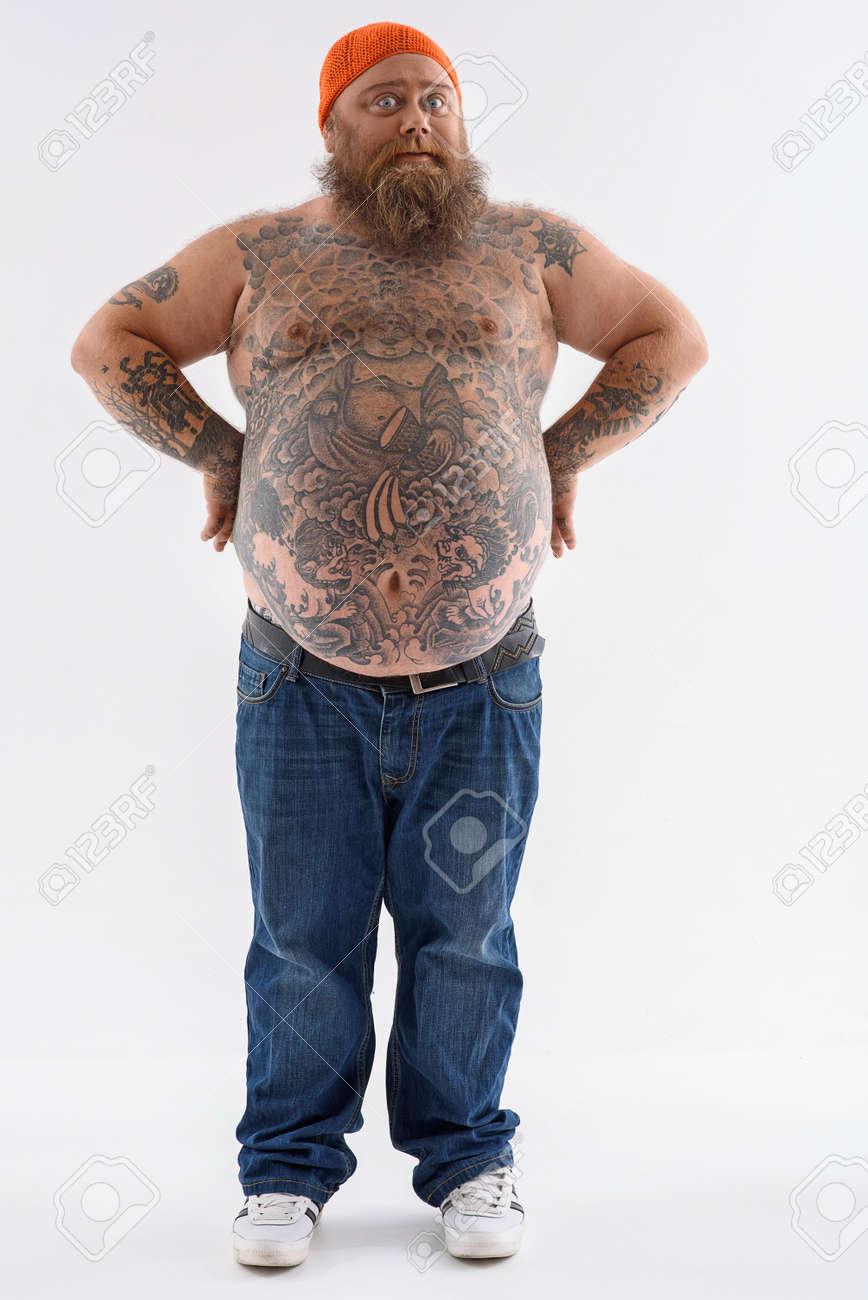 Große nackte dick