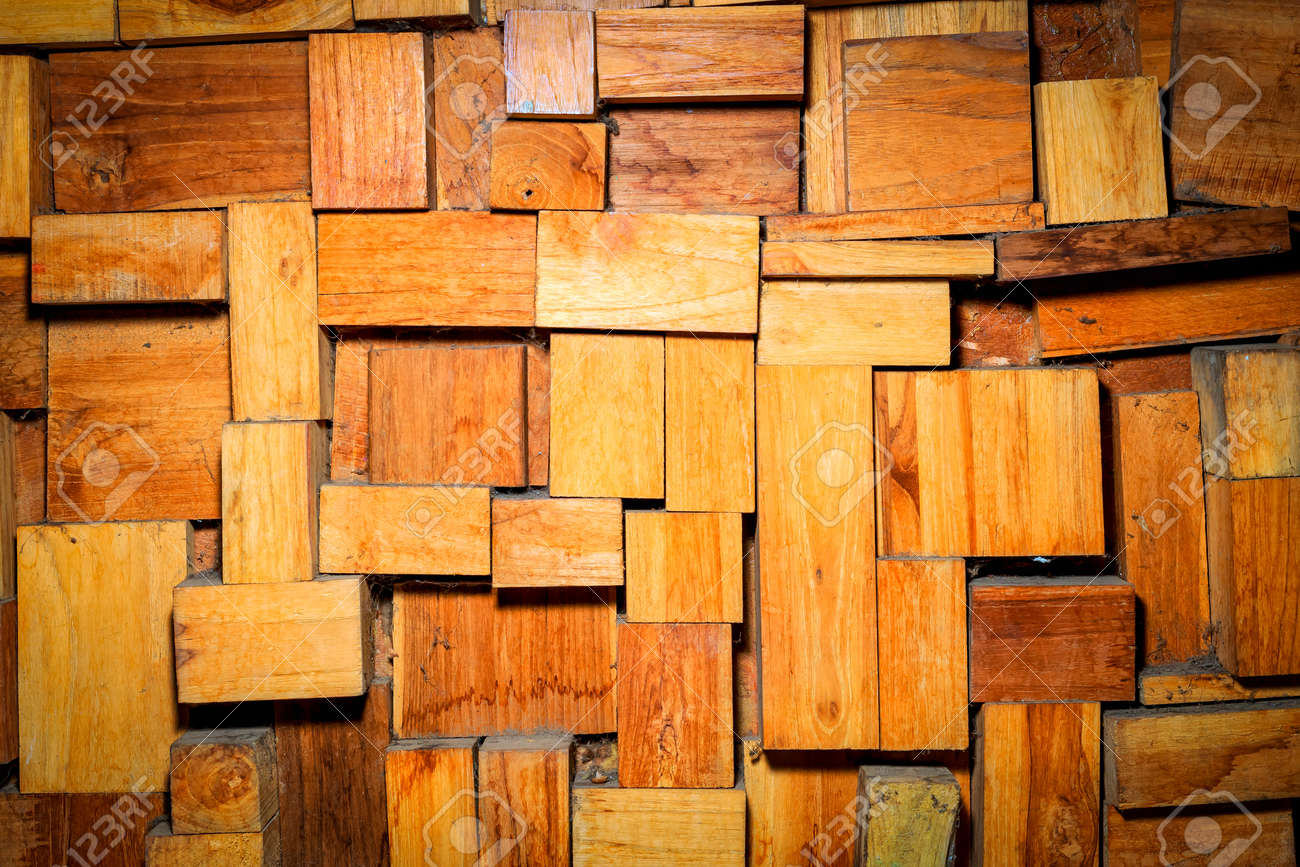 Wood Pieces Wall In Dramatic Light Background Stock Photo Picture And Royalty Free Image Image 60850961