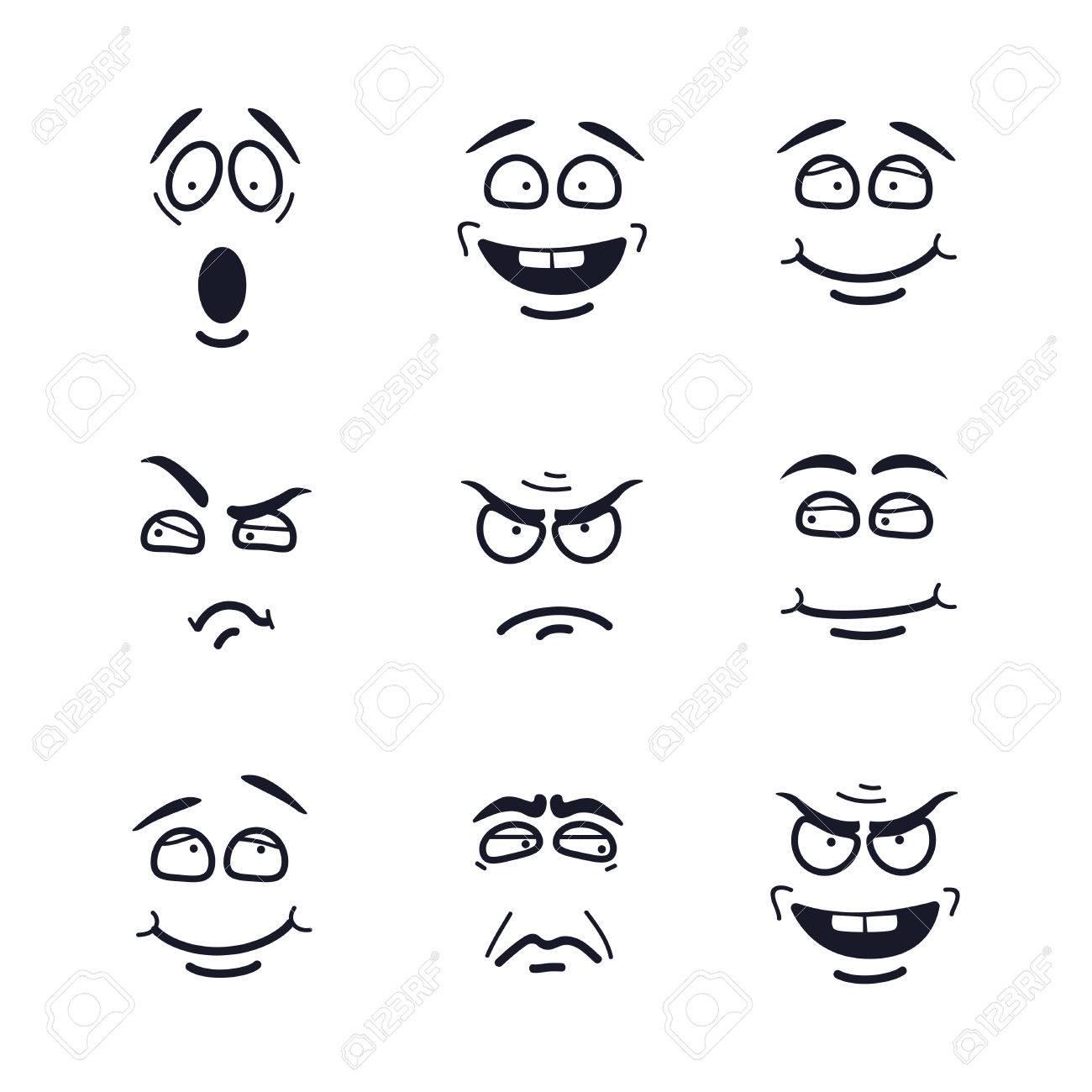Groß Emotion Gesichter Malvorlagen Bilder - Malvorlagen Von Tieren ...
