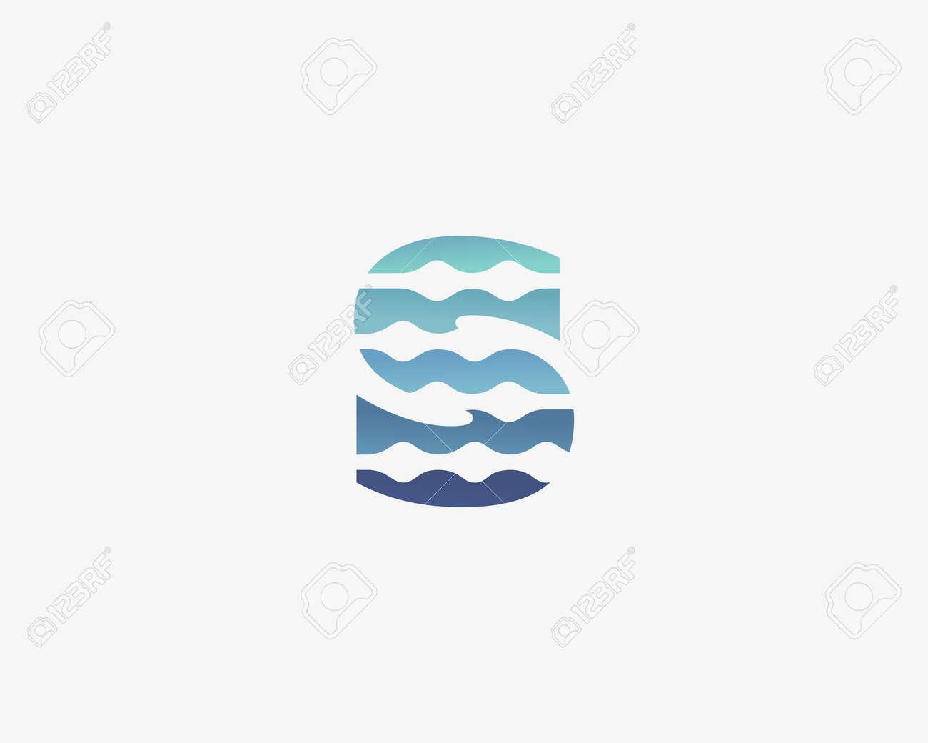 Resumen Letra S Icono De Diseño De Icono De Vectores. Símbolo ...