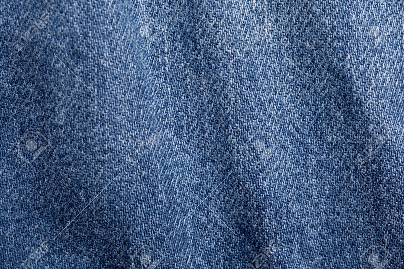 Close up shot of denim jeans texture - 145791950