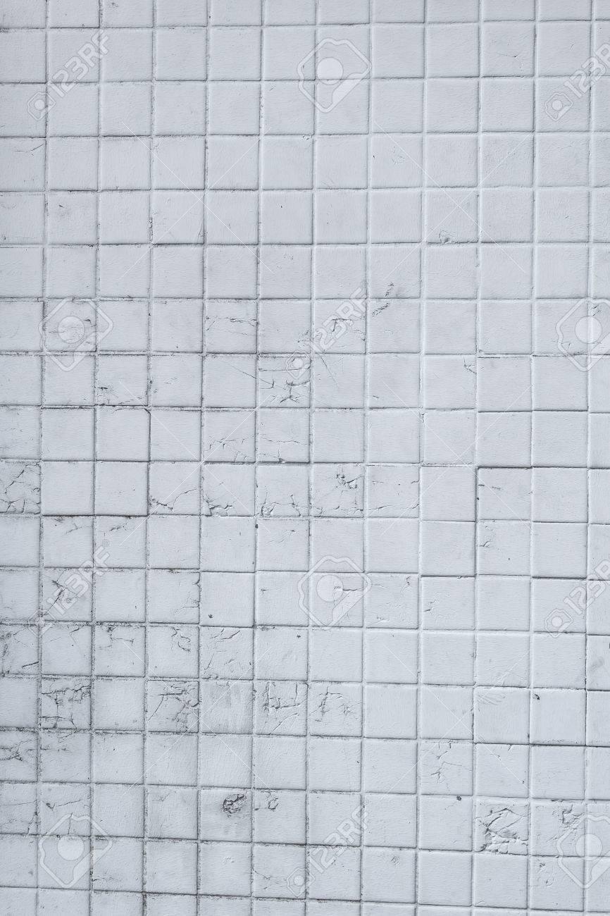 fondo de la pared de azulejos blancos foto de archivo