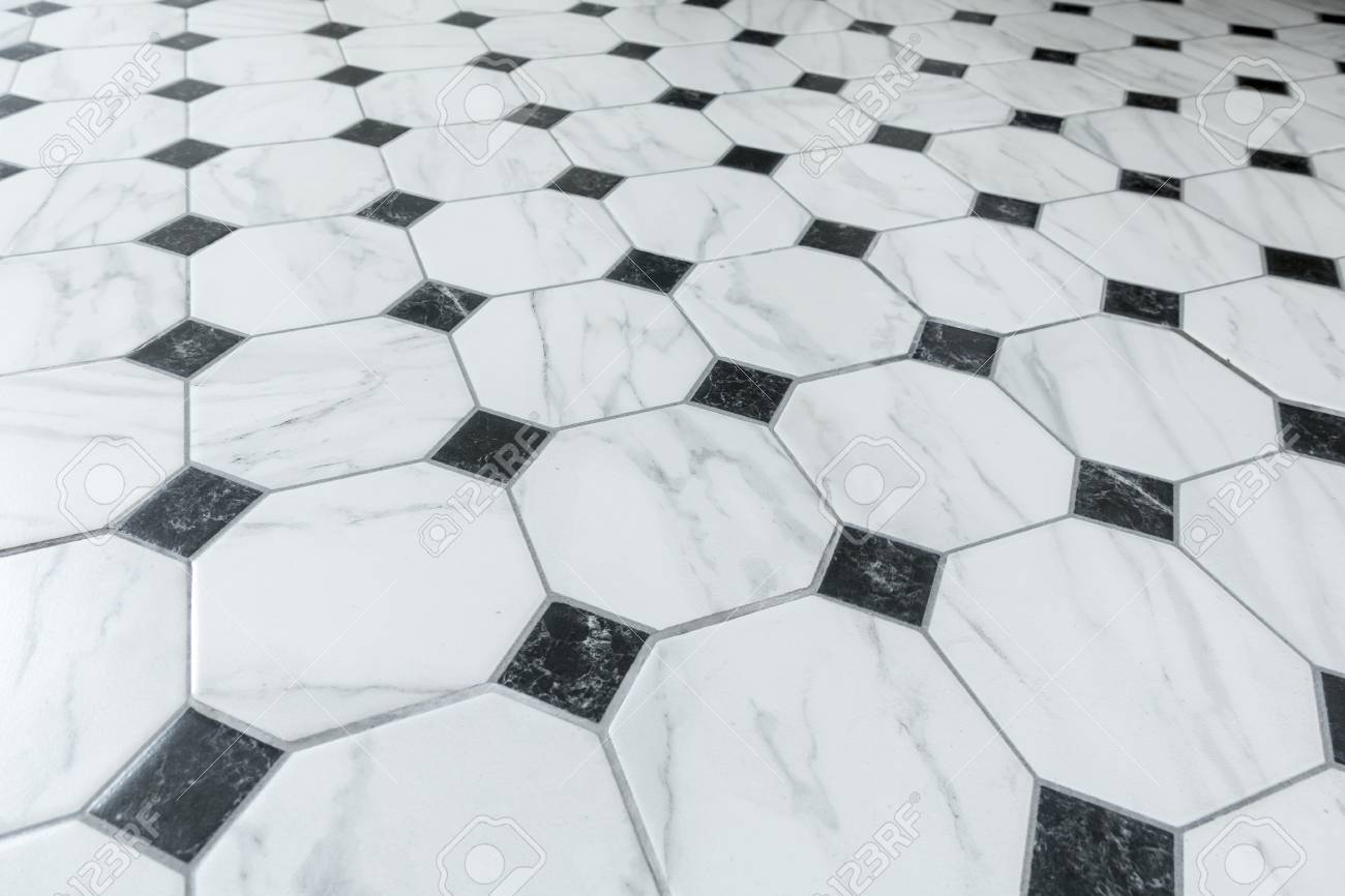 Floor Tile Black And White Marble Tiles Background And Pattern Stock Photo Picture And Royalty Free Image Image 62037179