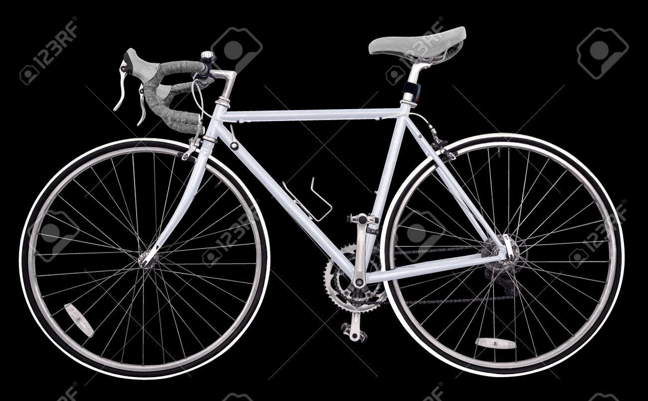 Beliebt Vintage Rennrad / Hellgrau Fahrrad Klassischen Stil, Modifizierte WY57