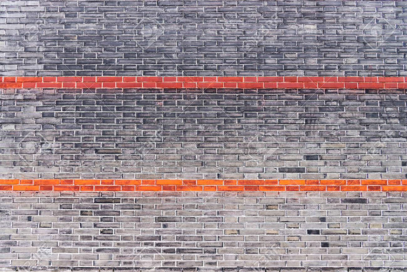b1bb44750b Old vintage industrial warehouse brick wall texture background Stock Photo  - 104041533