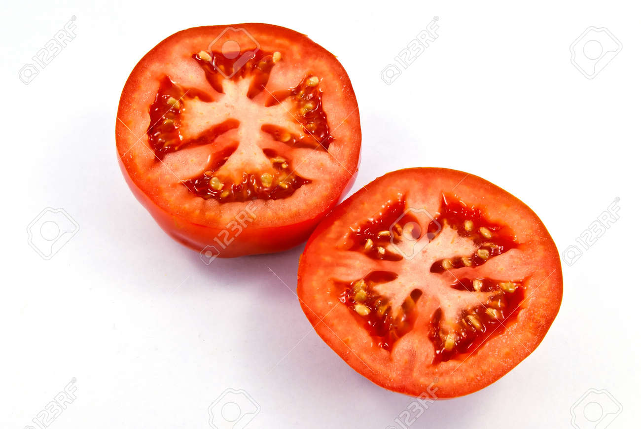 トマトの断面図 の写真素材 画像素材 Image