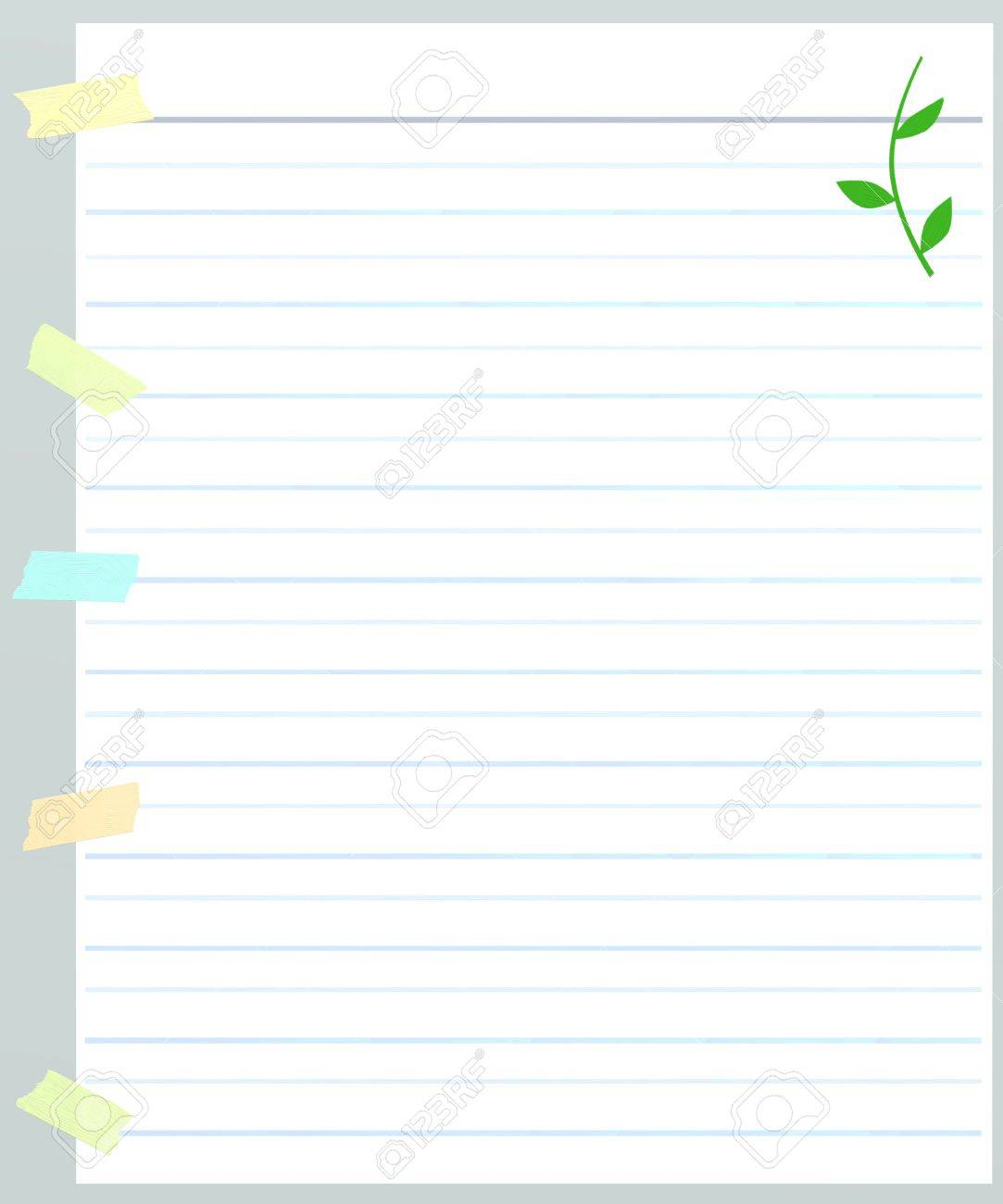 Printable Lines Paper free printable lined paper template – Free Lined Paper to Print