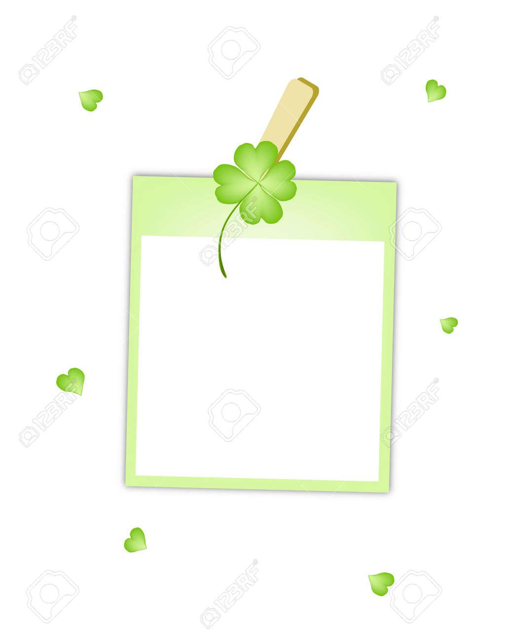 Symbole Für Glück Und Glück, Vektor-Illustration Von Blank Instant ...