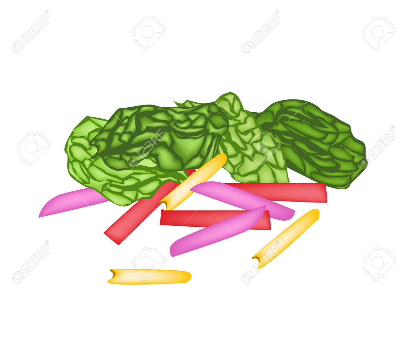 Vegetable Vector Illustration Of Delicious Fresh Rainbow Swiss Royalty Free Cliparts Vectors And Stock Illustration Image 26796356
