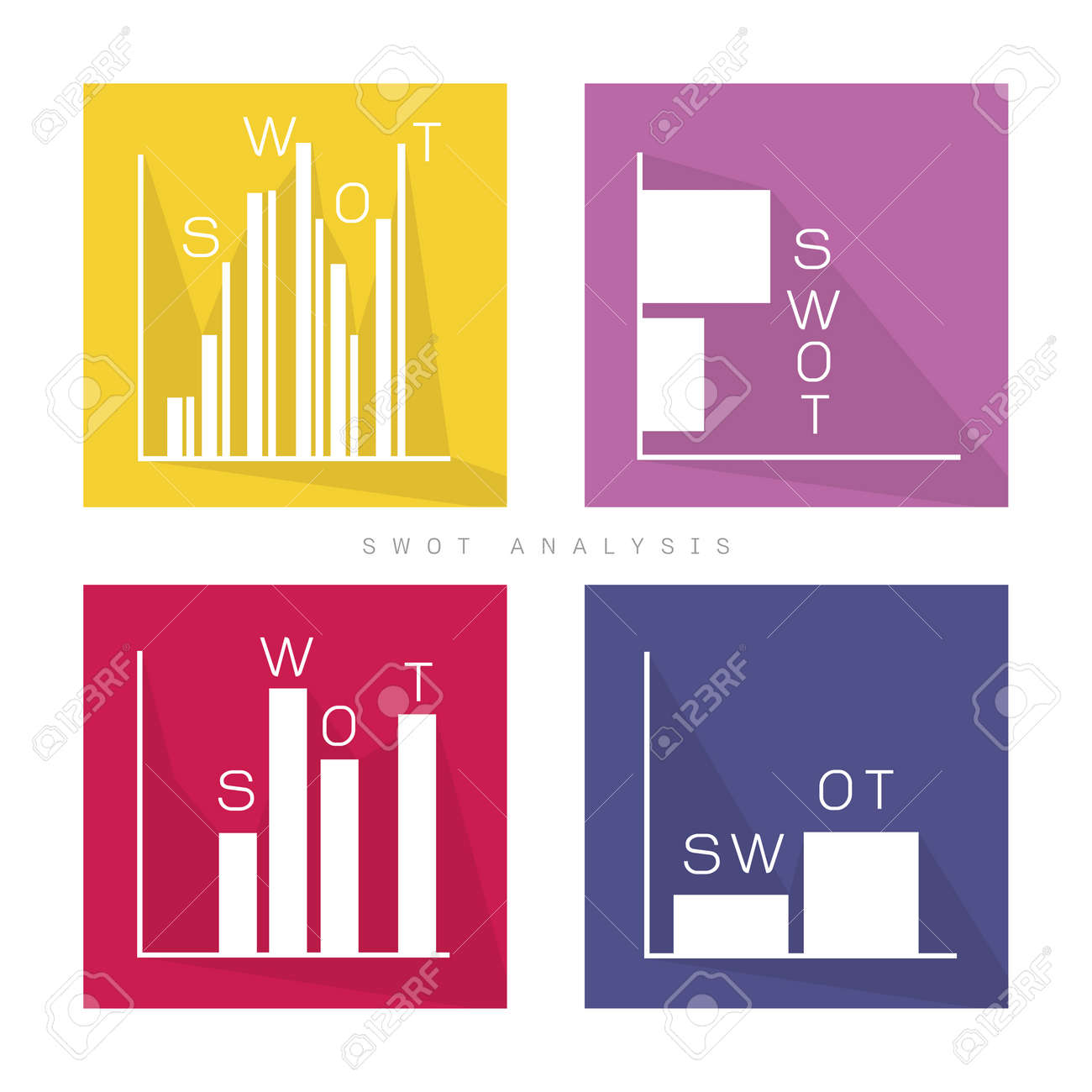 Business bar chart of swot analysis matrix a structured planning business bar chart of swot analysis matrix a structured planning method for evaluate strengths weaknesses ccuart Choice Image