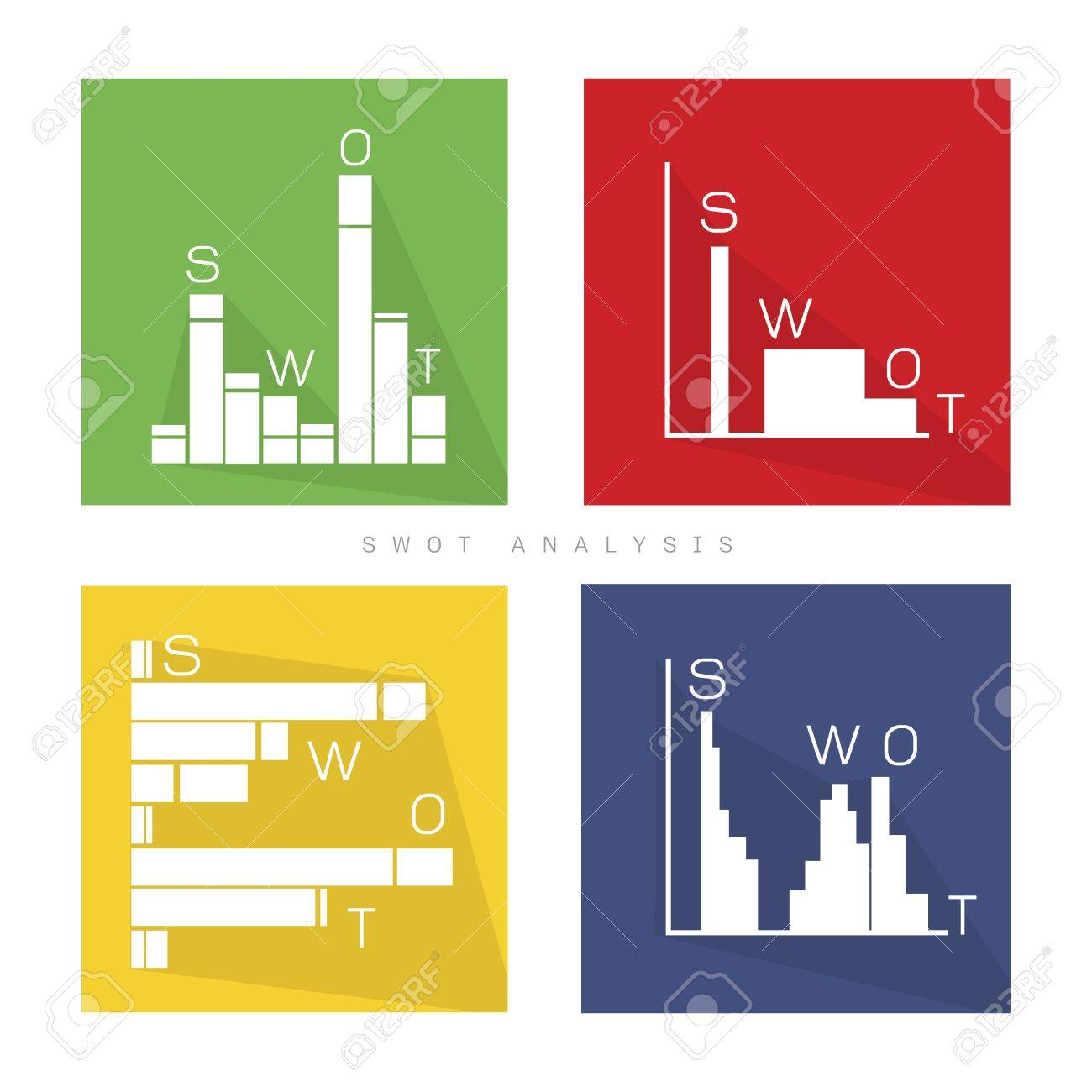 Business Bar Chart Of SWOT Analysis Matrix A Structured Planning Method For  Evaluate Strengths, Weaknesses