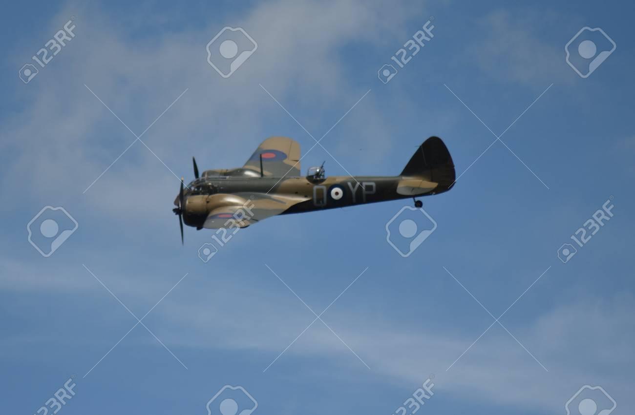 Bristol Blenheim light bomber in flight Stock Photo - 83511646