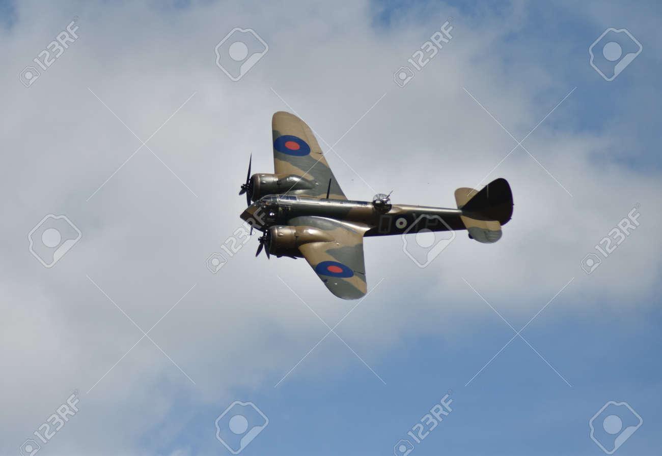 Bristol Blenheim light bomber in flight Stock Photo - 83511647