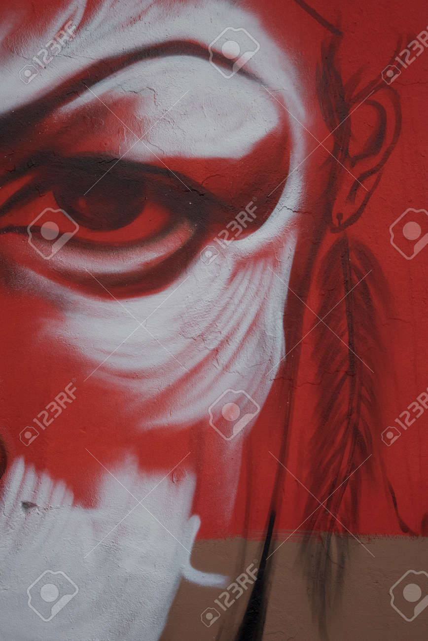 Ausgabe 2015 Der Schaffung Von Wandmalereien Hat Als Thema Der