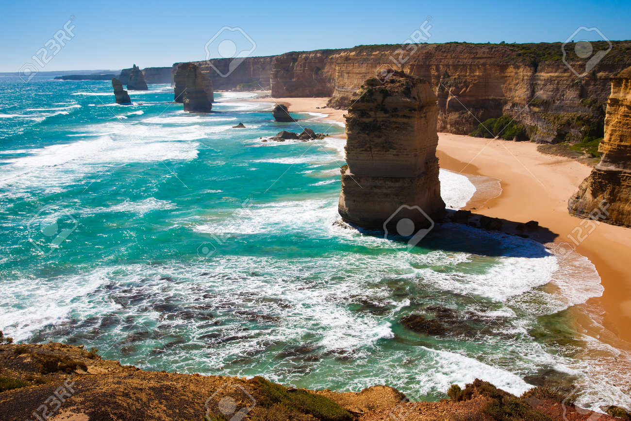 The Twelve Apostles, Great Ocean Road, Victoria, Australia Stock Photo - 13212169