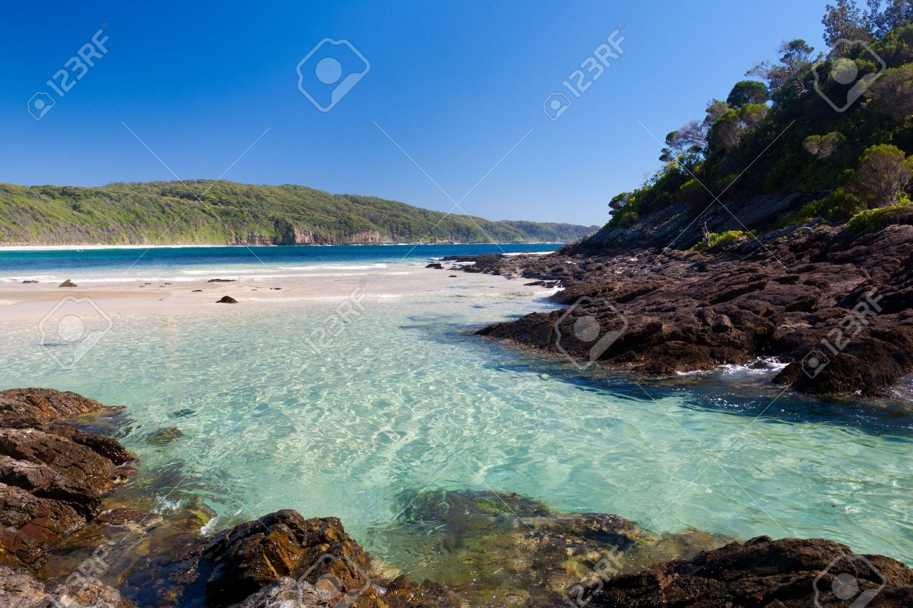 Number One Beach, Myall Lakes National Park, New south Wales, Australia Stock Photo - 13210689