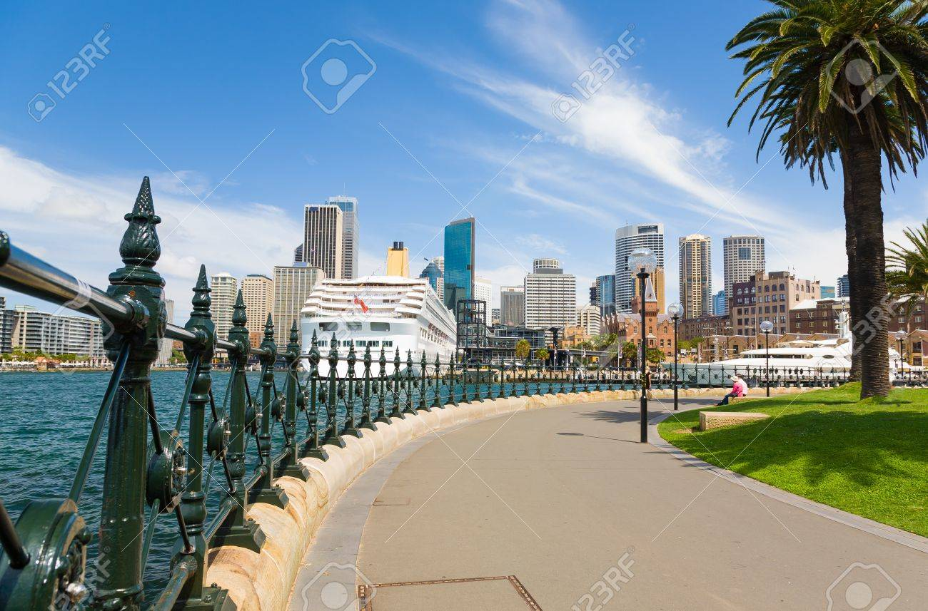 Sydney Central Business District from Dawes Point Park, Australia Stock Photo - 17014300