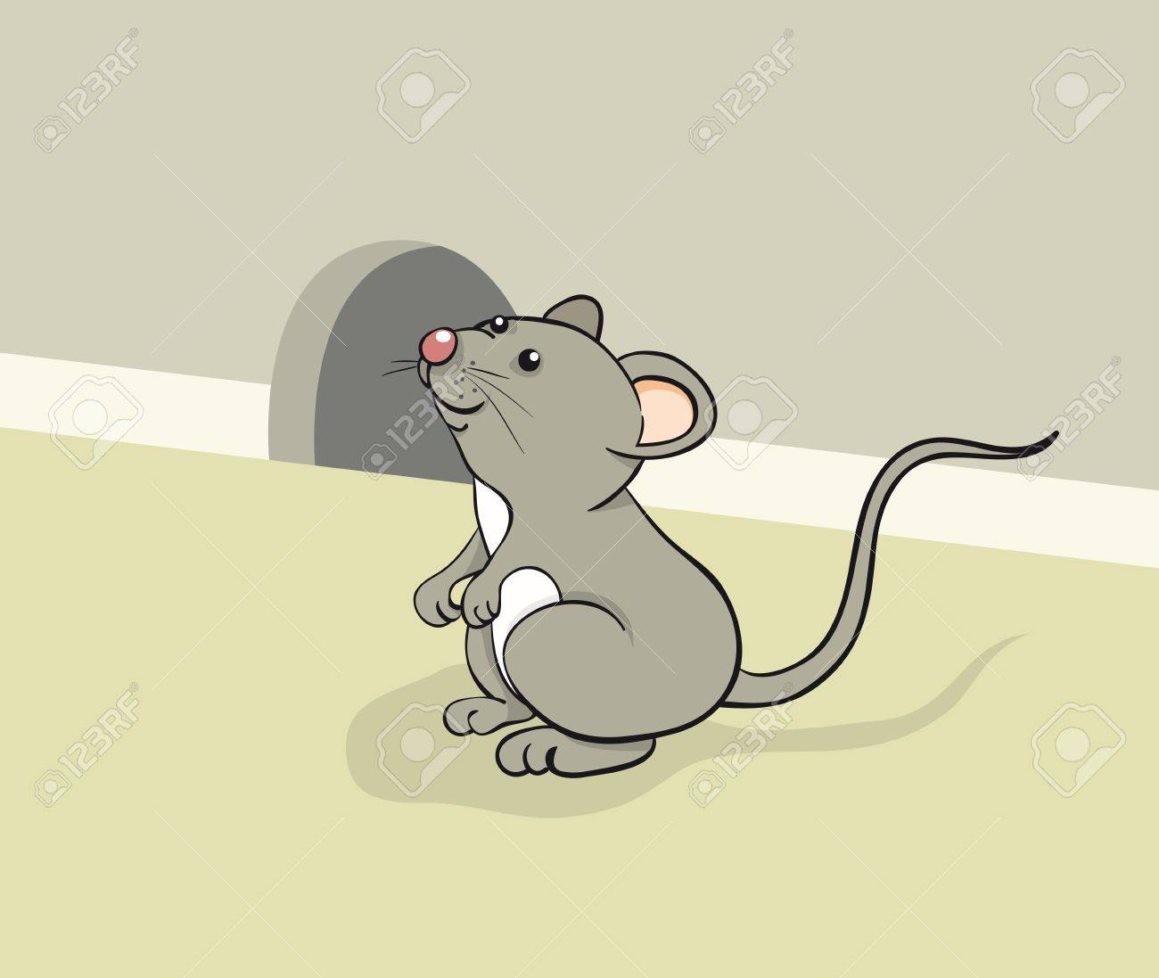 Fun mouse Stock Vector - 9400187