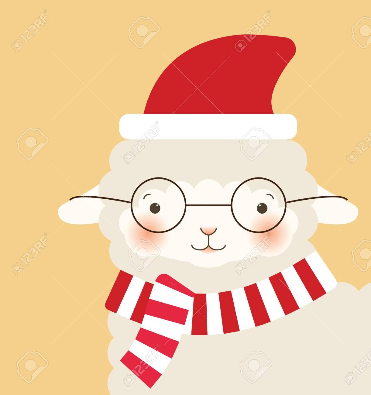 Buon Natale 105.Buon Natale Capra Biglietto Di Auguri
