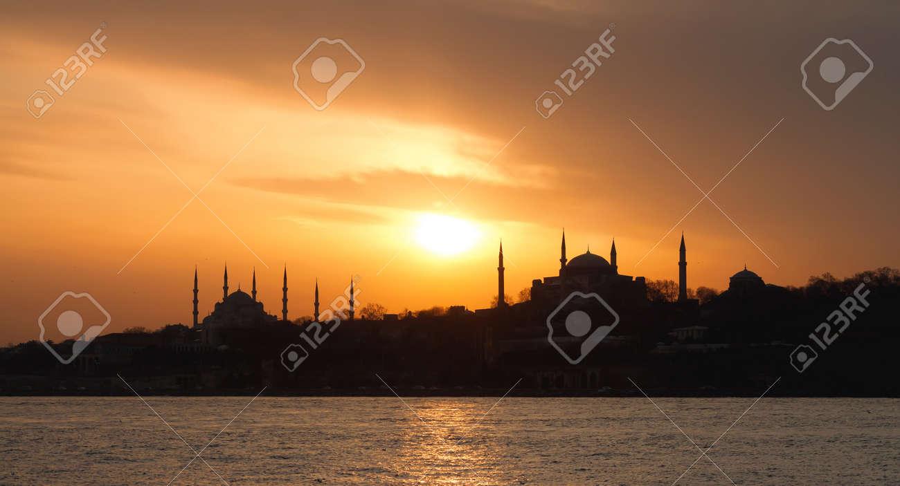 Istanbul, Sarayburnu in panoramic view - 9166966