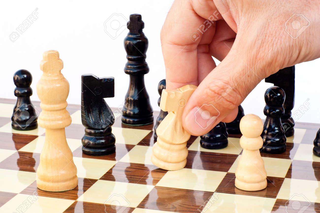 Chess game board Stock Photo - 10201728
