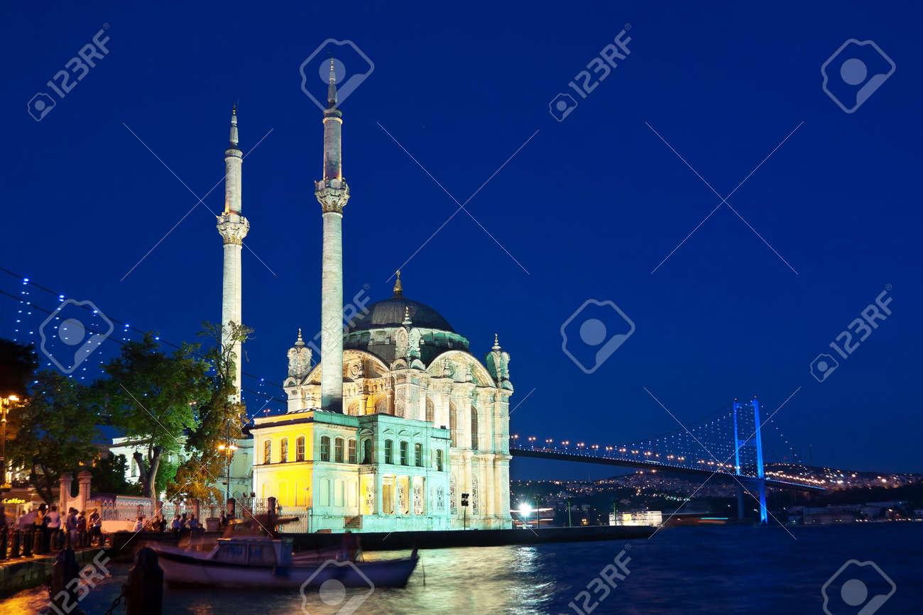 Night at Ortakoy, Istanbul - 12425284