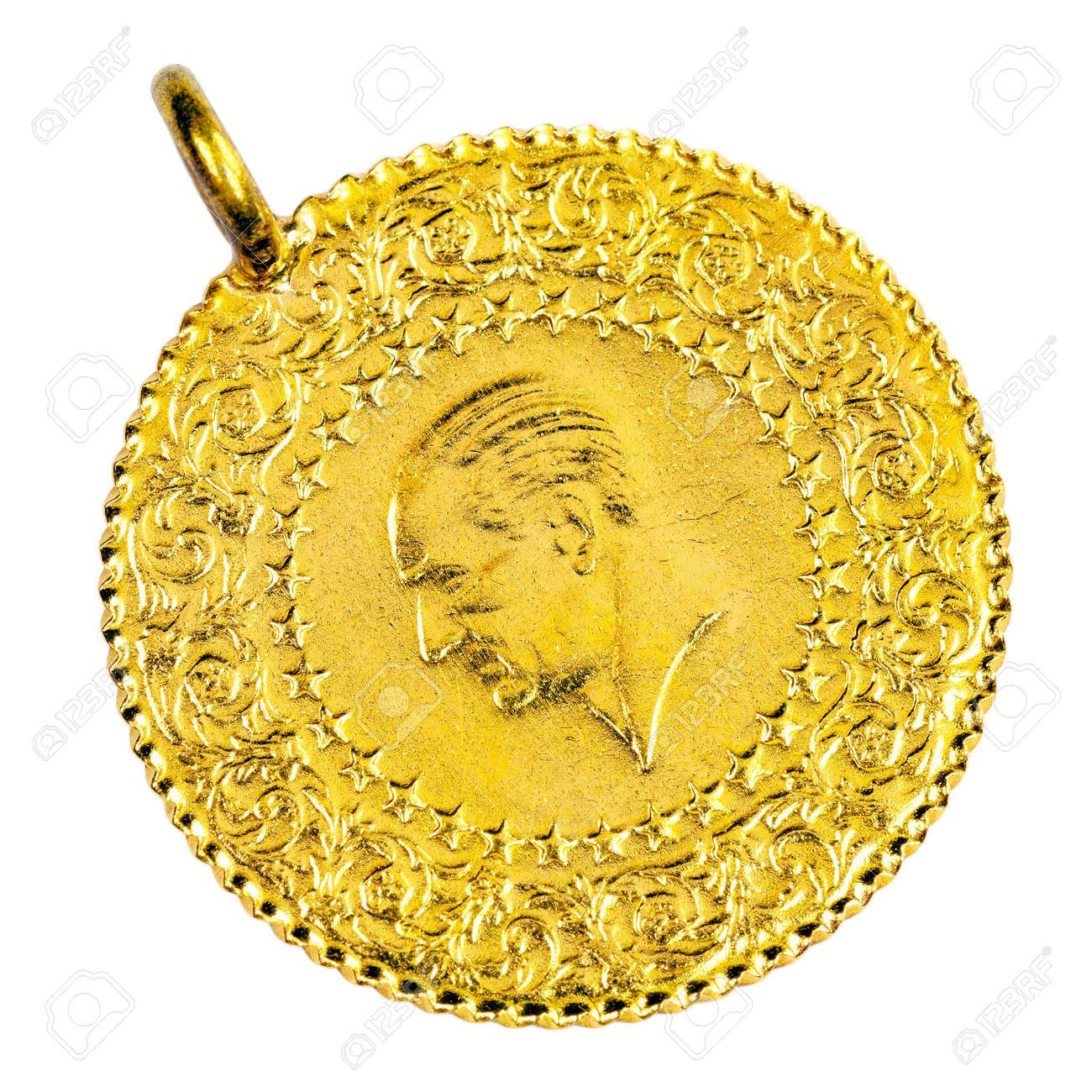 collier en or femme turque