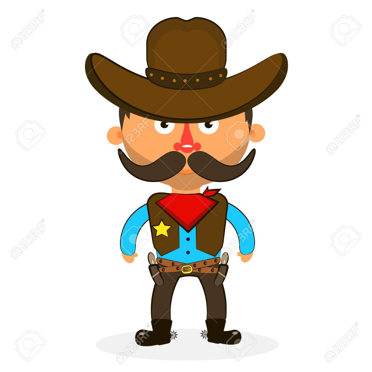 Wild West Cowboys Hat Drawing Illustration Beautiful Royalty Free ... 11bcf15bbc26