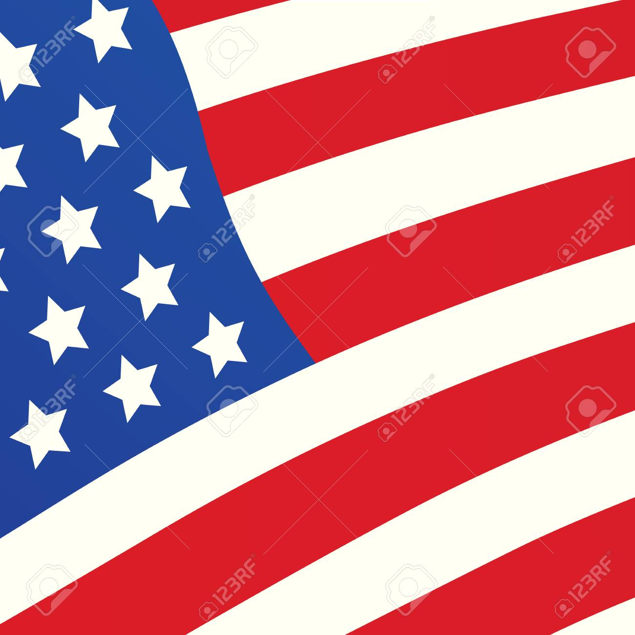 stock photo vector american flag cover design template for independence day banner sale offer party poster brochure catalog book presentation