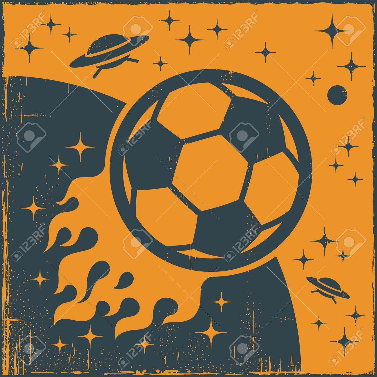 Space Ball Stock Vector - 13383897