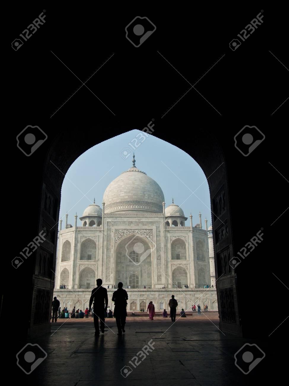 Taj mahal,India Stock Photo - 14247362