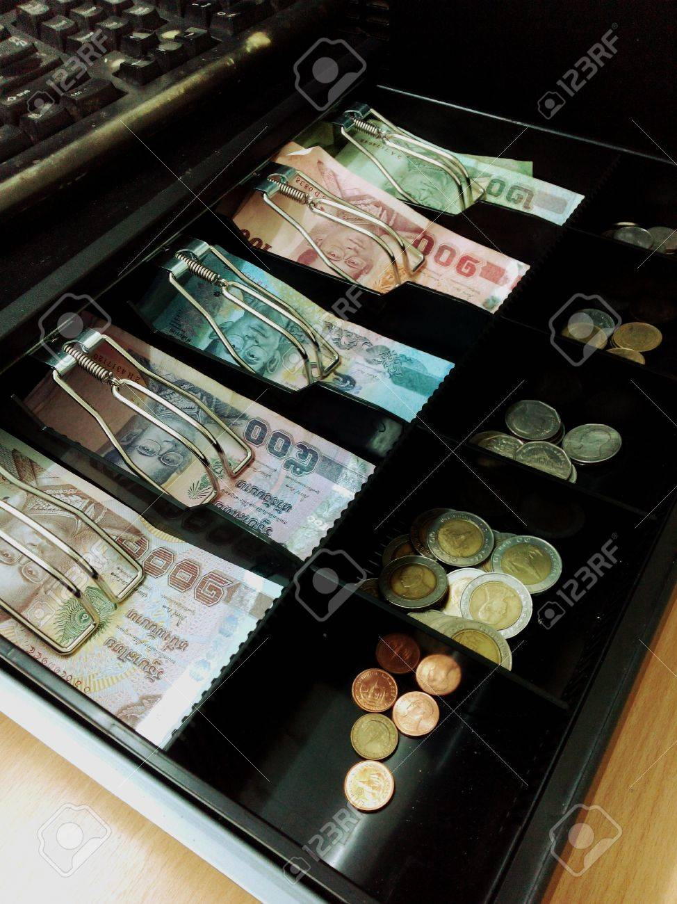 pos portable money slots itm register cash bill drawers drawer lock royal