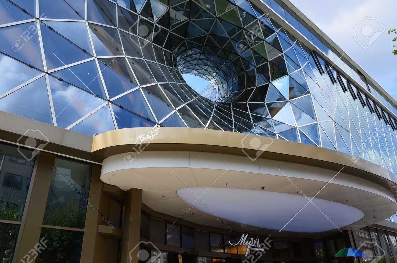 An modern building in Frankfurt am Main - 139339822