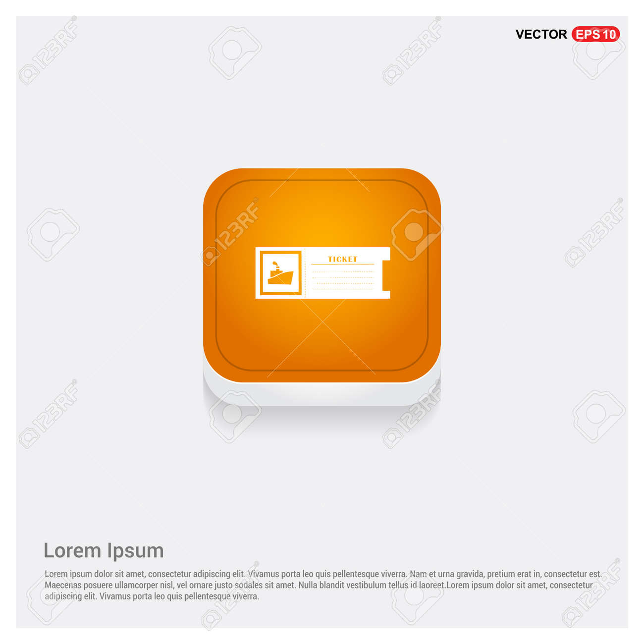 ticket icon - 110067512