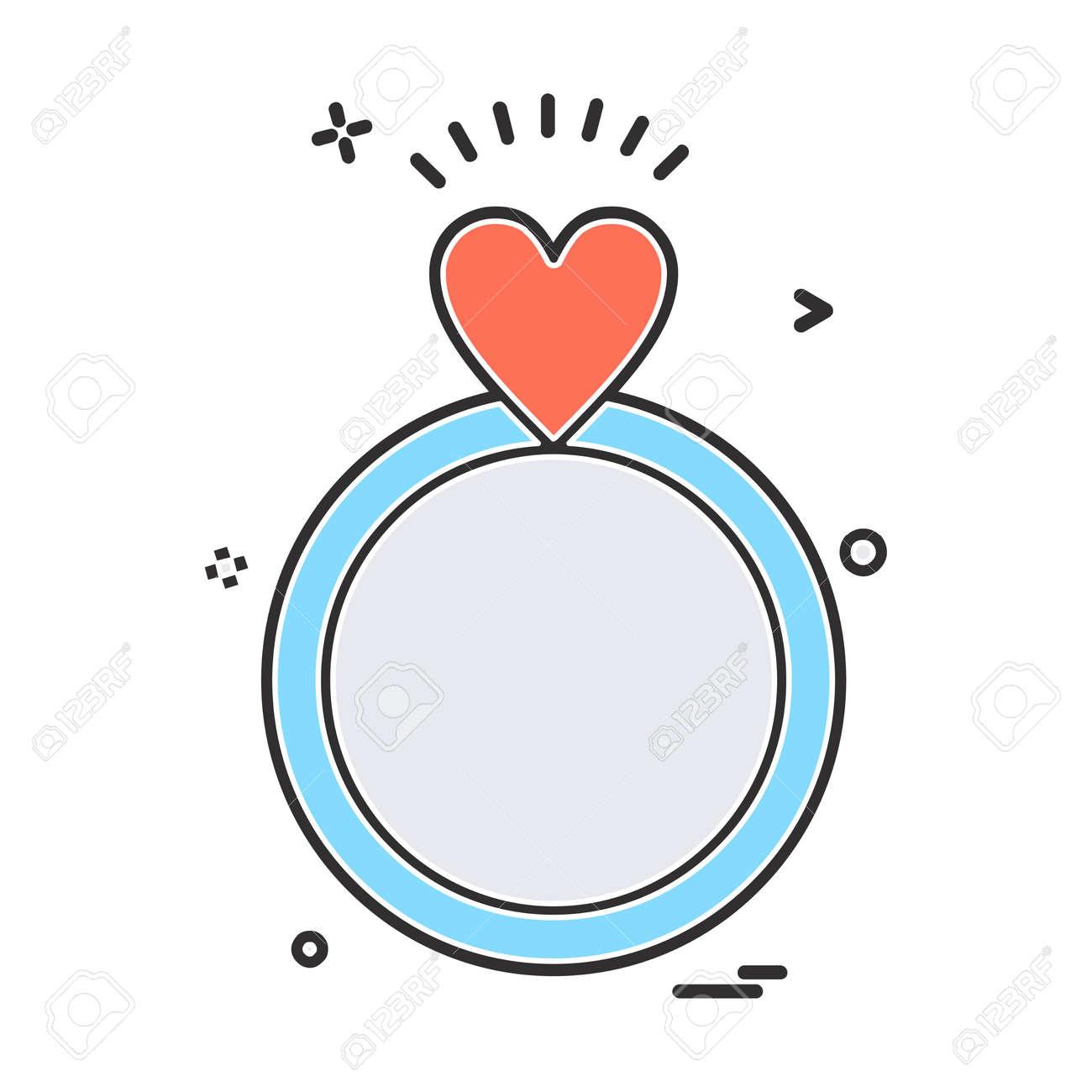 Valentine S Day Icon Design Vector Royalty Free Cliparts Vectors