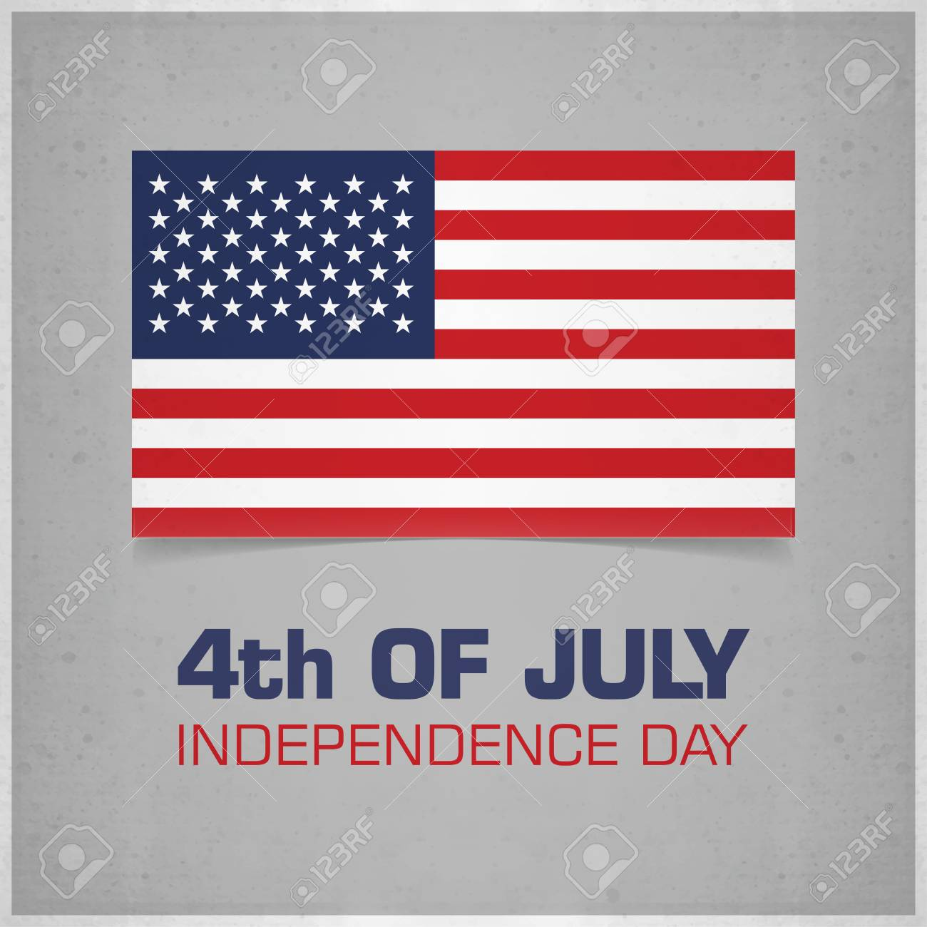 e858ae3411c USA Independence Day Design Card Vector Royalty Free Cliparts ...