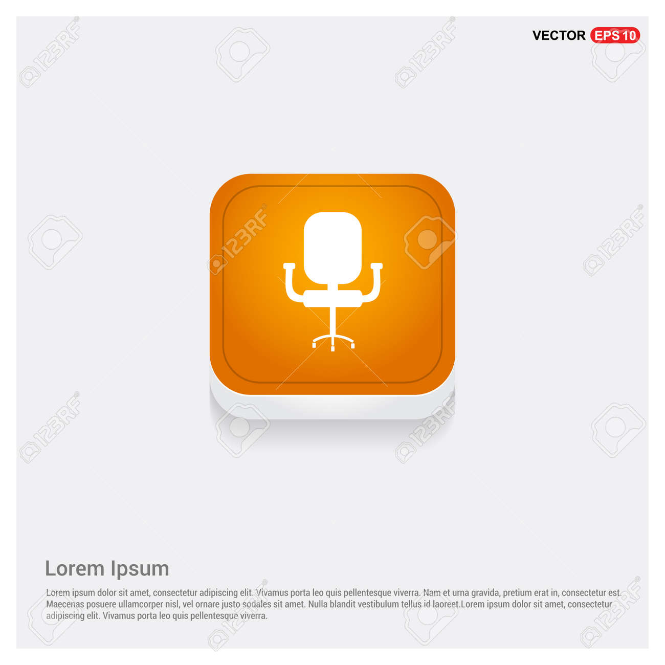 Office Chair Icon - 118332881