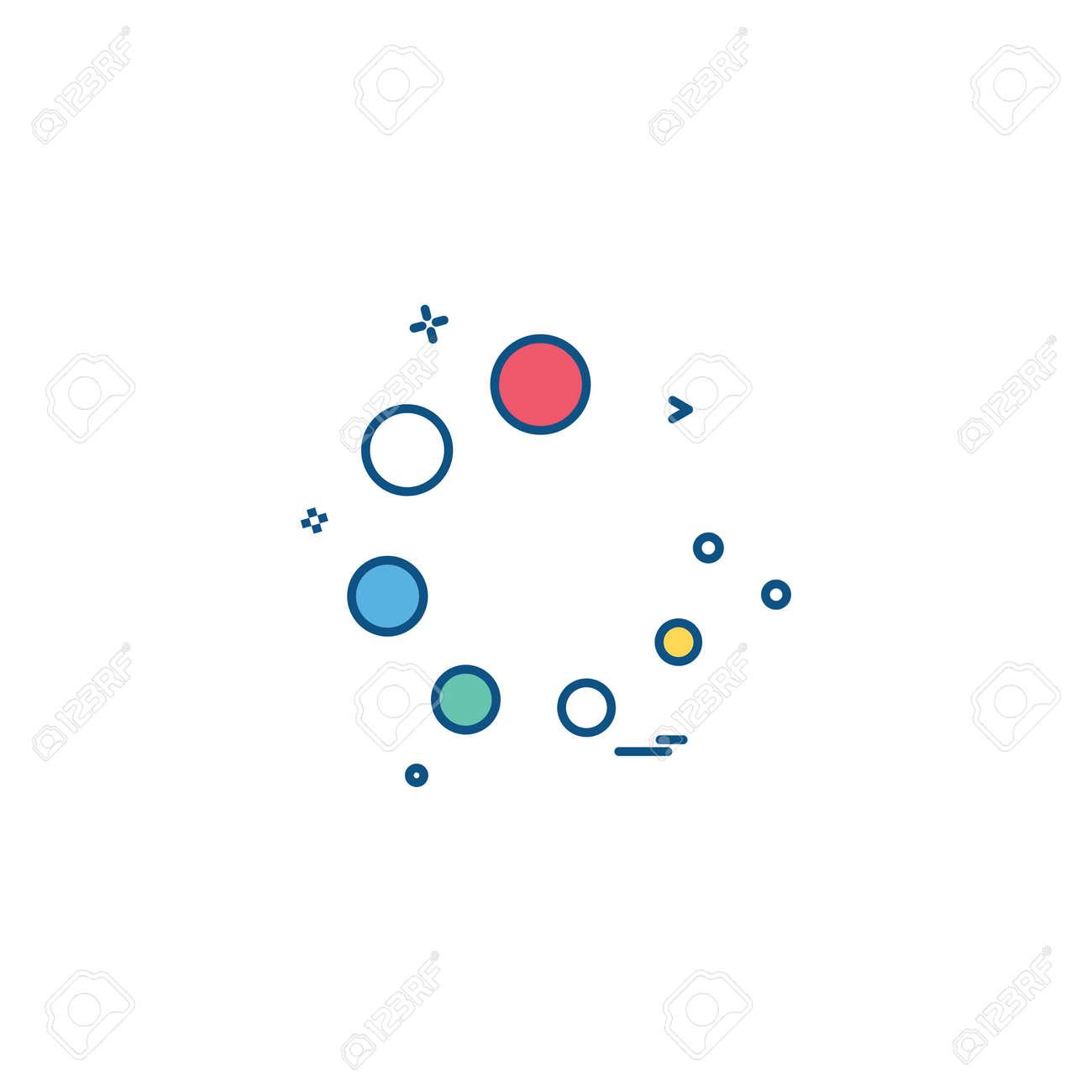 Progress icon design vector - 122160132