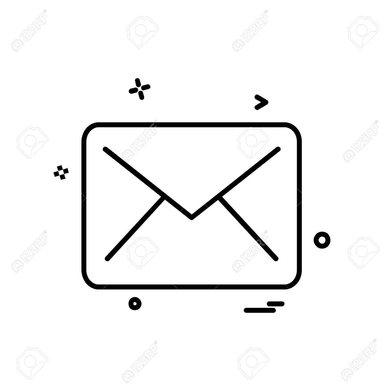 Letter icon design vector - 122160158
